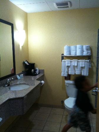 Large Bathroom in regular room