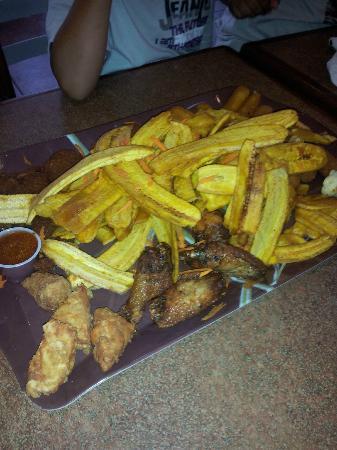 El Toston Criollo: appetizer