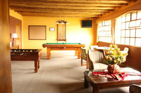 PuertoLago Country Inn: Game Room area