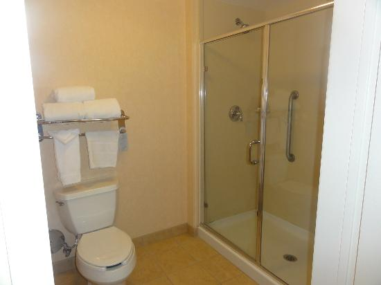 Homewood Suites by Hilton La Quinta: shower,no tub room 105