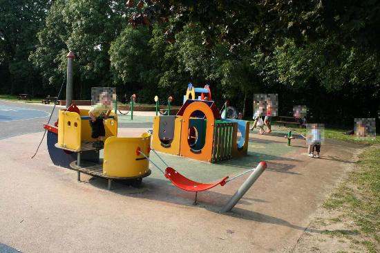 The Recreation Ground: toddlers play area