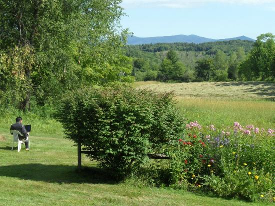 Clifford Country Bed & Breakfast: Free WiFi can be used in nature, too