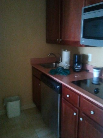 Homewood Suites by Hilton East Rutherford-Meadowlands: All Stainless in Kitchenette
