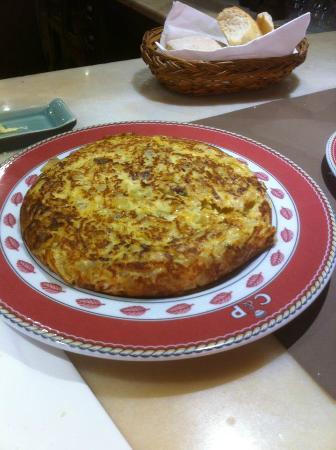 Tasca El Callejon: Tortilla de ibéricos