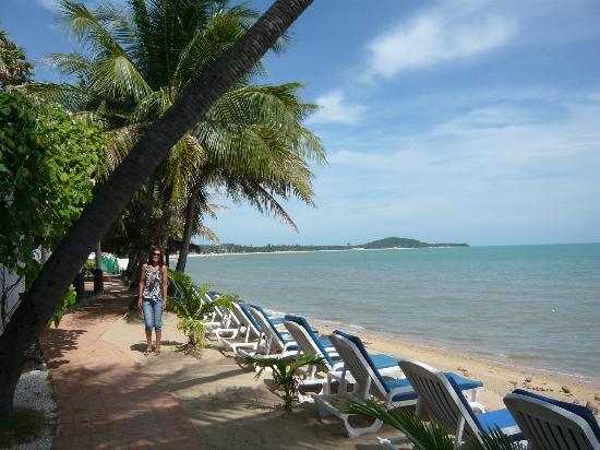 Paradise Beach Resort: Region next to the restaurant