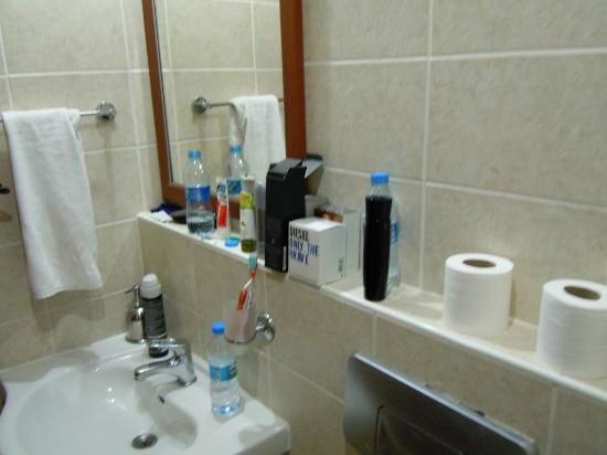 Irem Garden Hotel & Apartments: Toilet.