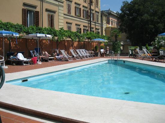 Grand Hotel Plaza & Locanda Maggiore: Hotel pool
