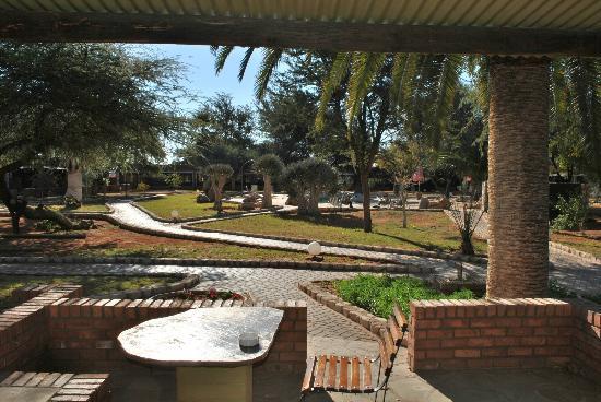 Kalahari Anib Lodge: Depuis notre chambre
