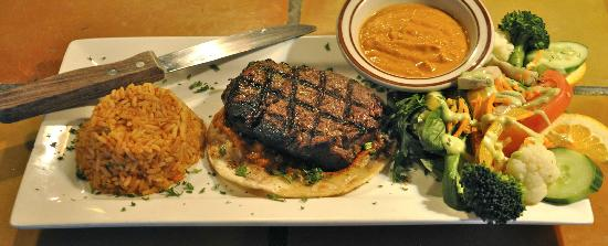 Auberge Casa de Mateo : Filet mignon with Chipotle sauce