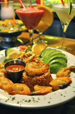 Auberge Casa de Mateo: Delightful Mexican main dish (Camarones a la Diabla)