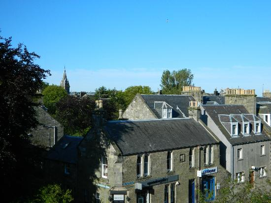 Greyfriars Hotel: View from Room 318 (one window)