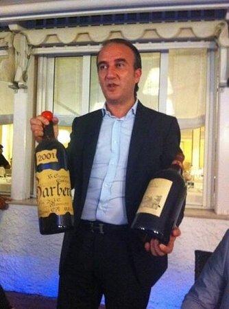 Ospedaletti, Italie : il titolare Marco Cuccuve