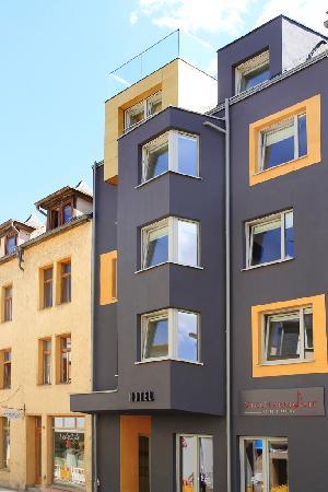 Jena, Germany: Frontansicht von Haus 1