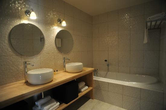 Les Chambres d'Andréa : salle de bains suite 4