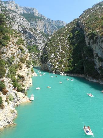 Camping La Baume - Residence La Palmeraie: Gorges Du Verdon.