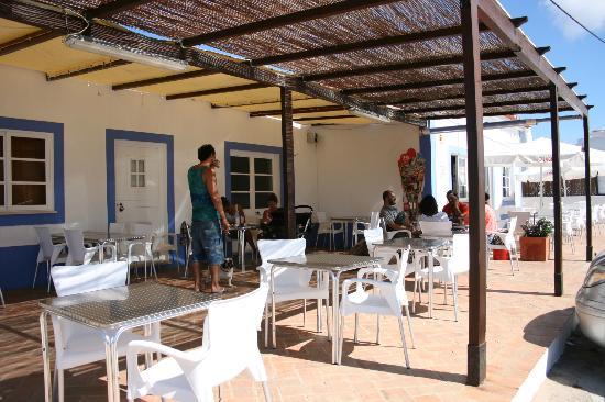 terrasse couverte - Bild von A Sagres, Sagres - TripAdvisor