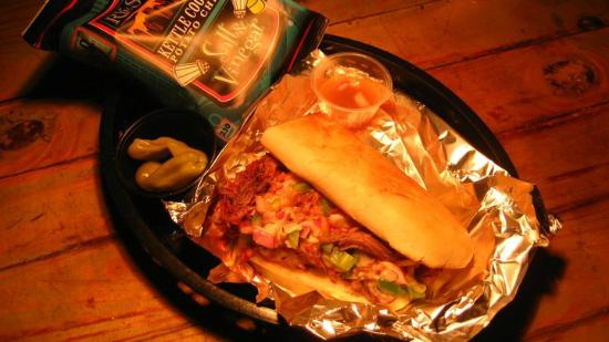The Barge-Inn: Our Famous Philly-Style Pot Roast Sandwich