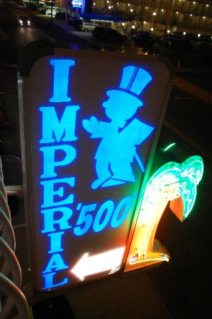 Imperial 500 Motel: signature neon signs of Wildwood