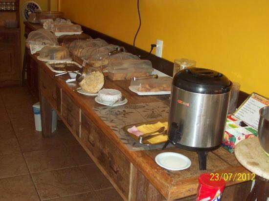 El Parador Pousada: Desayuno
