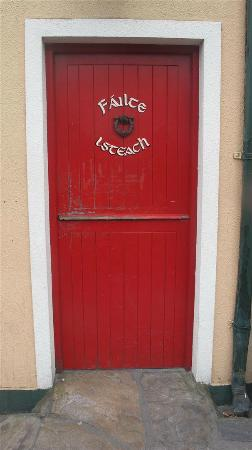 "Padraicins B&B: As the sign literally says ""Welcome Inside"""