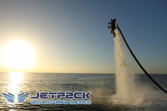Jetpack Adventures : Jetpack México en Cancun