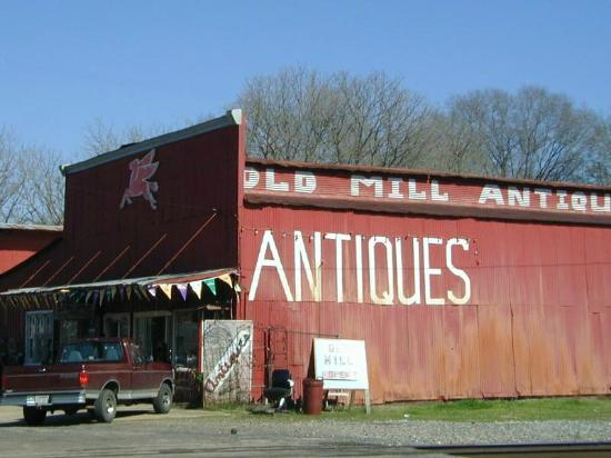 Old Mill Antiques, Jefferson, TX