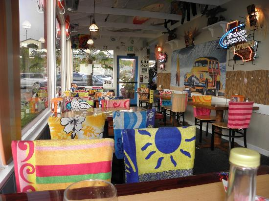 Rocca's Surf Shack: Beach Decor