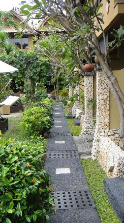 Puri Madawi: le jardin
