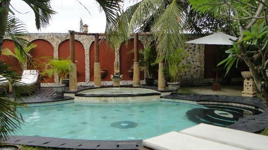 Puri Madawi: la piscine