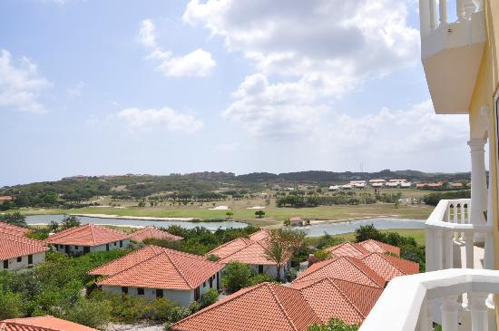 Blue Bay Curaçao Golf & Beach Resort: our view from one bedroom luxury apartment
