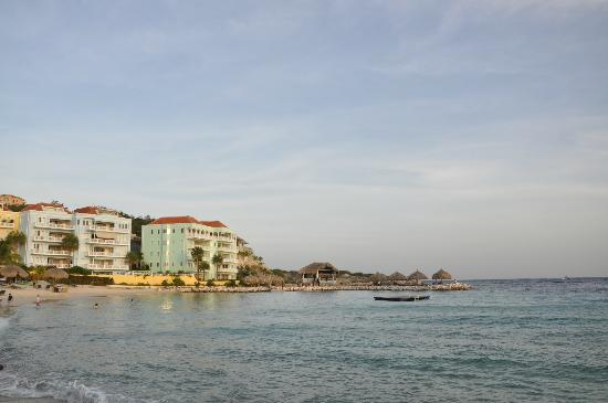 Blue Bay Curacao: blue bay apartments overlooking ocean