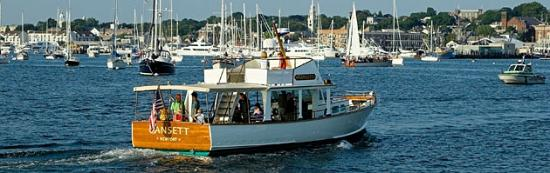 Gansett Cruises in Newport Harbor