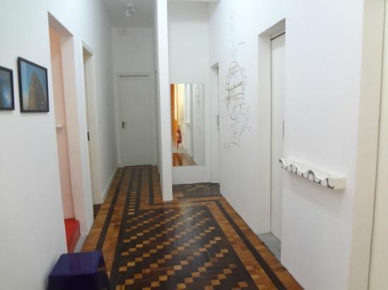 Kaza Rio: Area dos quartos