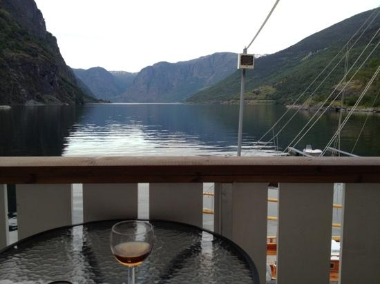 Flam Marina & Apartments: view from the private balcony