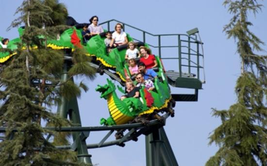The Dragon Coaster Picture Of Legoland California