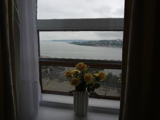 Hotel Terrasse Dufferin : vue de la chambre