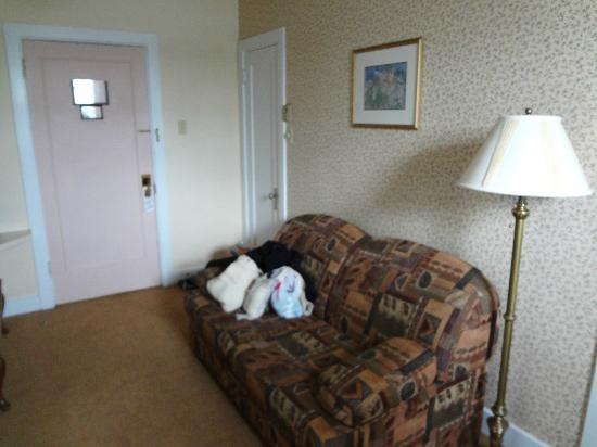 Hotel Terrasse Dufferin: chambre