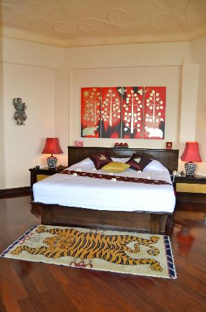 Jamahkiri Resort & Spa: Very comfy bed