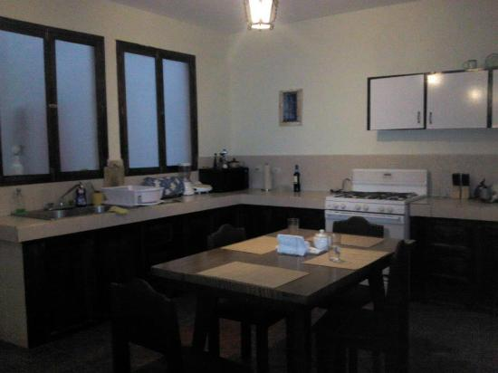 Taanah Guest House Antigua: Kitchen and Dinning room