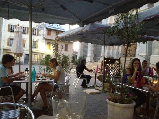 Restaurant restaurant de la piscine dans barcelonnette for Piscine barcelonnette