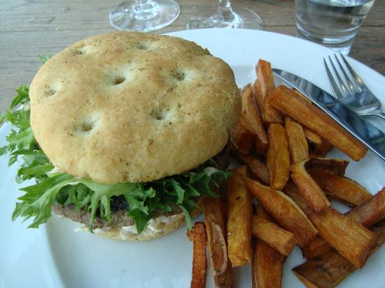 Hamburger à la BBQ House