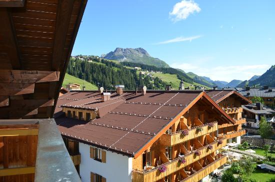 Hotel Theodul: Vue de notre suite (35)
