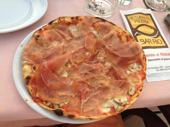 Bar Rio: pizza