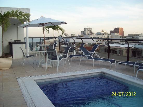 Ibiza Copacabana Hotel: Área de la Piscina