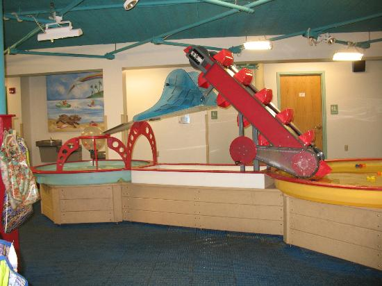 Children's Museum of Eau Claire: Water Works Area in the Basement