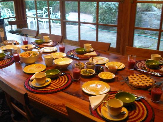 Lodge Andino El Ingenio: Desayuno