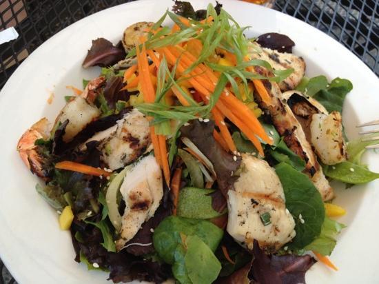 Sweet Lorraine's Good Food : My delicious chicken & shrimp salad