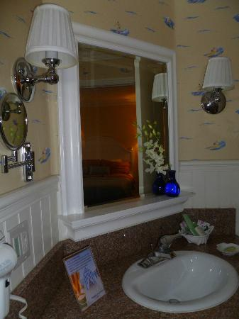 Bay Shores Peninsula Hotel: Vanity