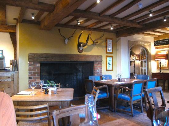 The George Grill Hotel Bar Tables Rye East Sus