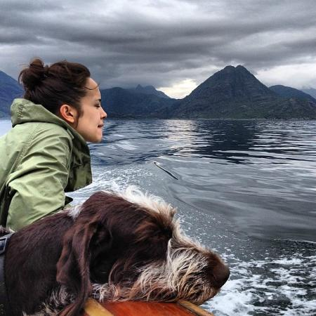 Elgol, UK: On the boat